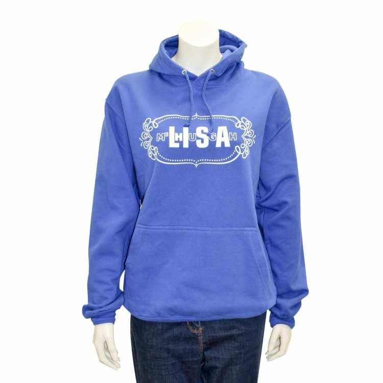 lisa mchugh adult hoodies blue