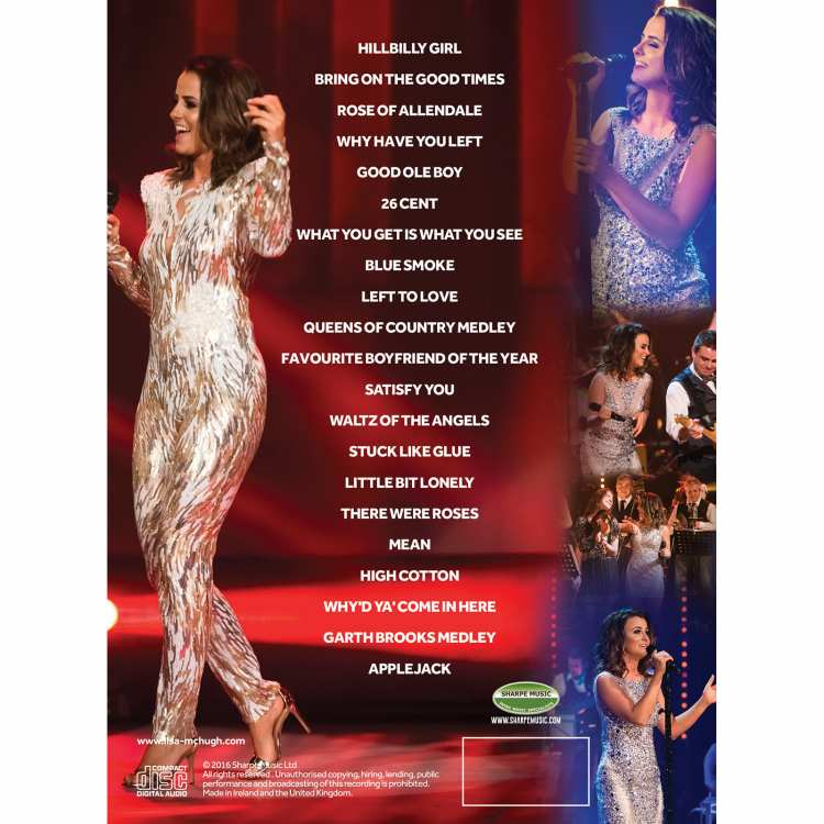 #lisalive dvd back