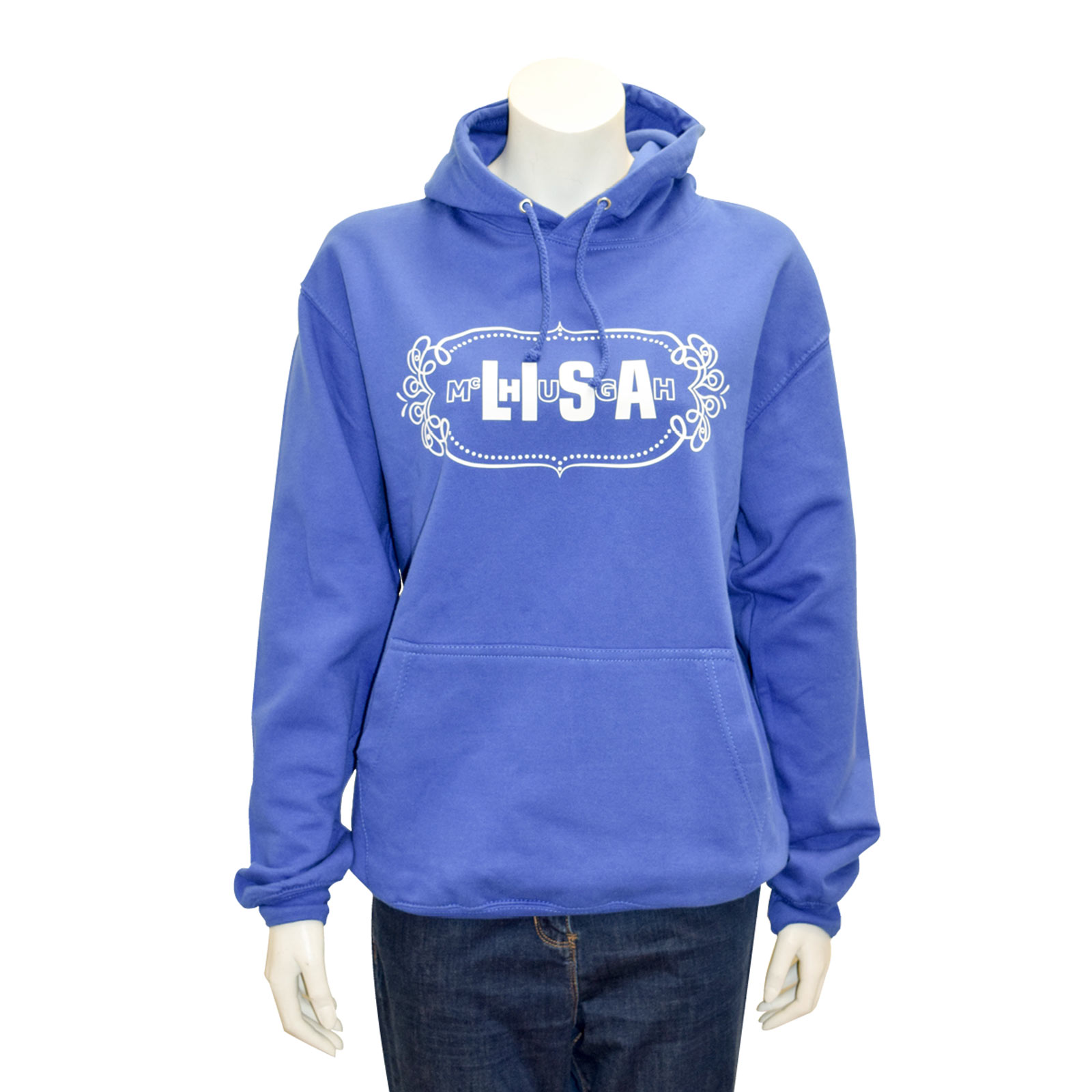 lisa mchugh adult hoodies blue